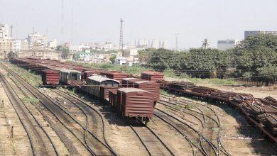 Photo of کراچی کےسٹی ریلوے اسٹیشن کے قریب ٹرین حادثہ